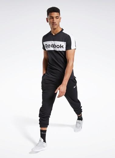 Reebok Reebok Fu3123 Te Ll Ss Graphic Tee T-Shirt Siyah